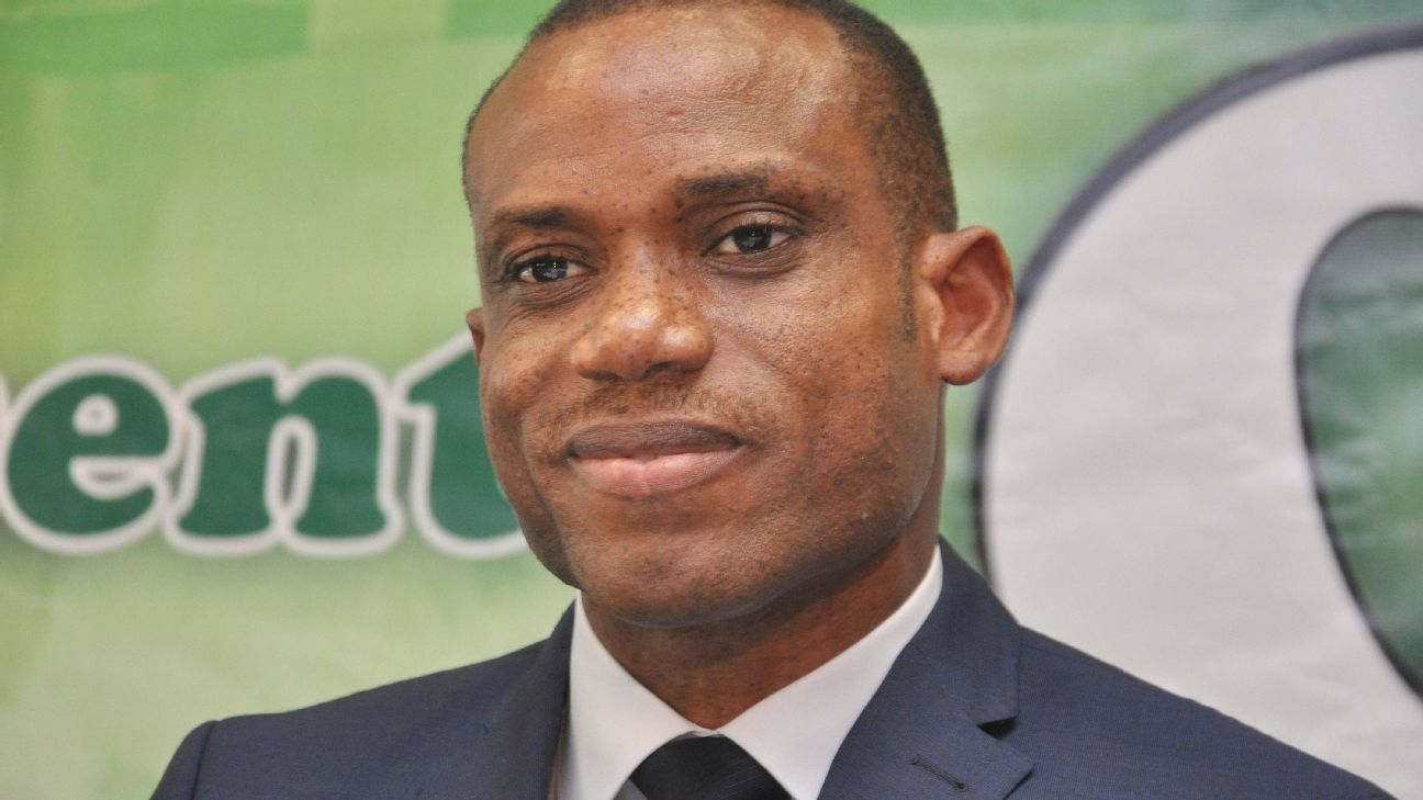 Nigeria head coach Sunday Oliseh had every reason to smile following his team's 4-1 thrashing of Niger.