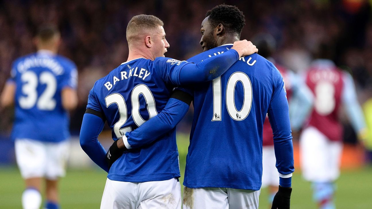 Ross Barkley and Romelu Lukakuq