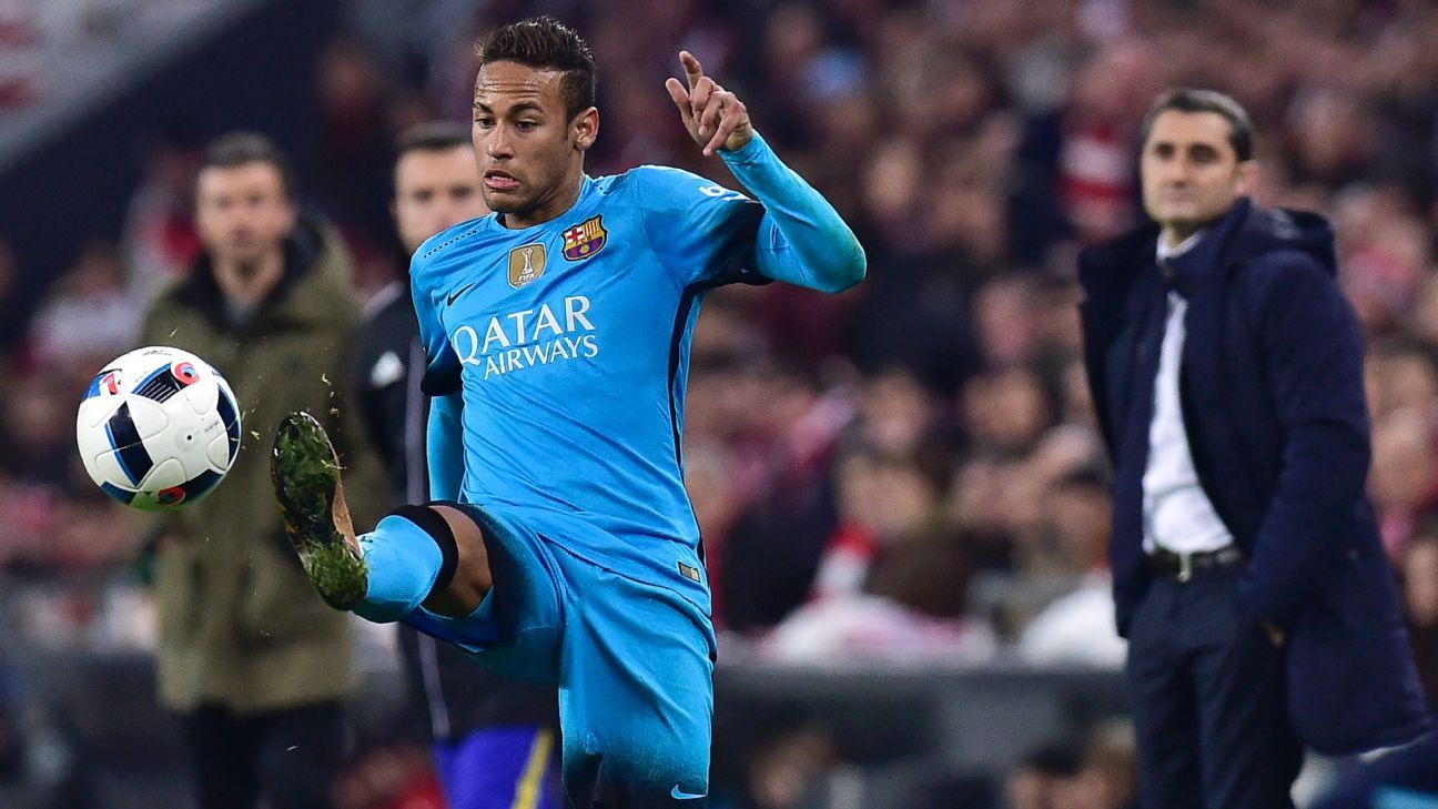 Neymar vs Bilbao 160120