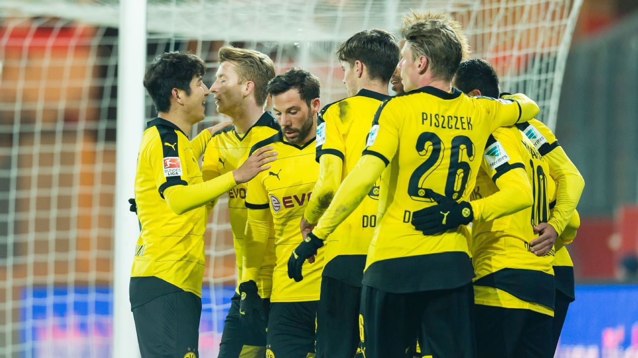 Borussia Dortmund have scored in every one of their Bundesliga matches this season.