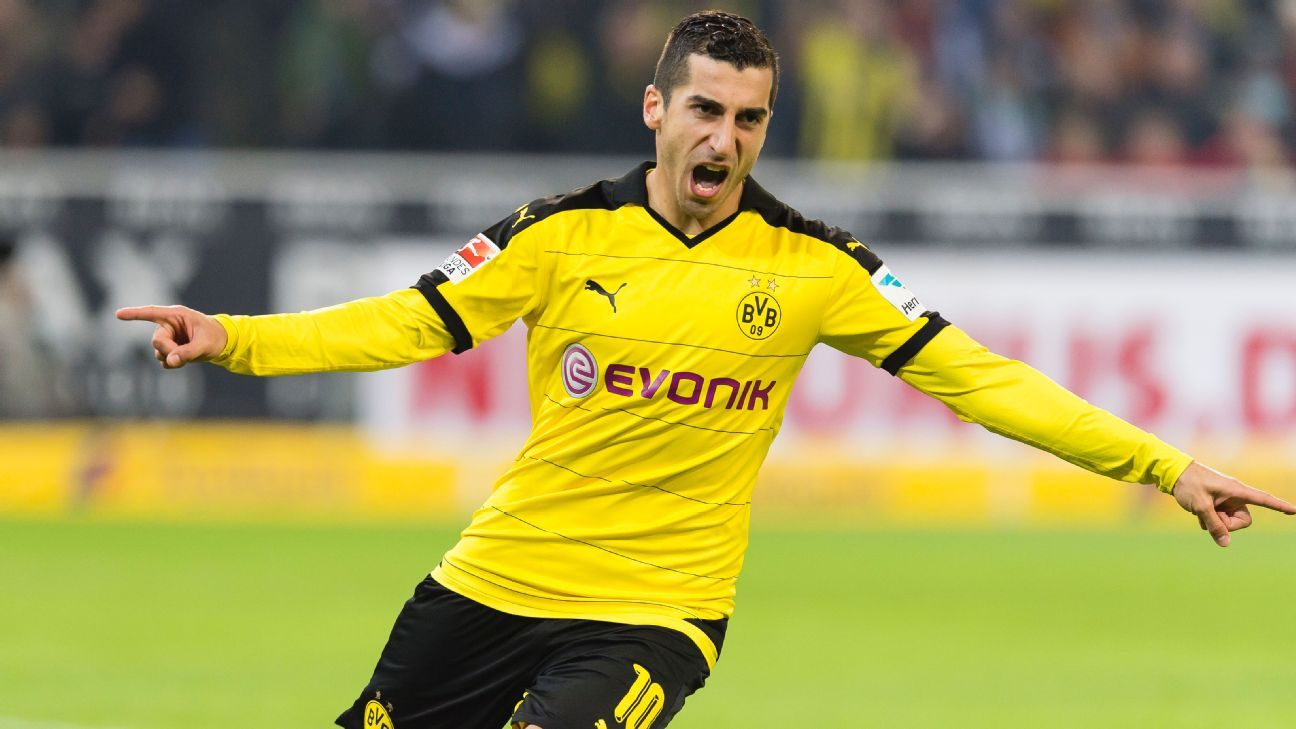 There were no signs of rust from Henrikh Mkhitaryan, whose goal and assist spearheaded Dortmund's victory.
