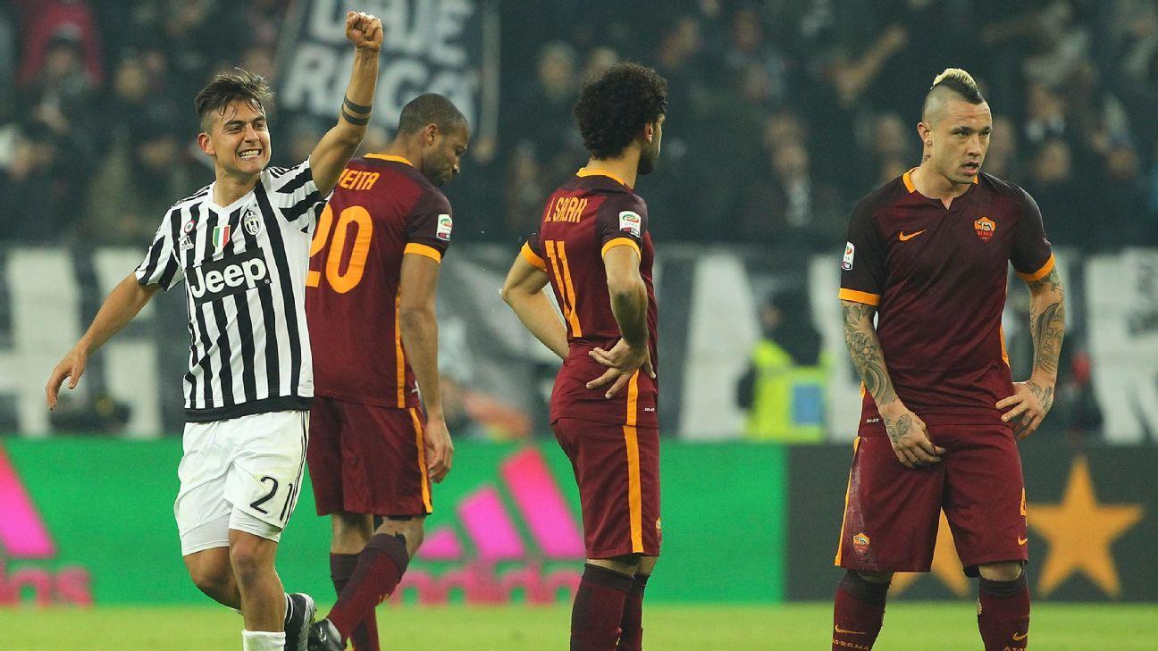 Paulo Dybala celeb vs Roma 160124