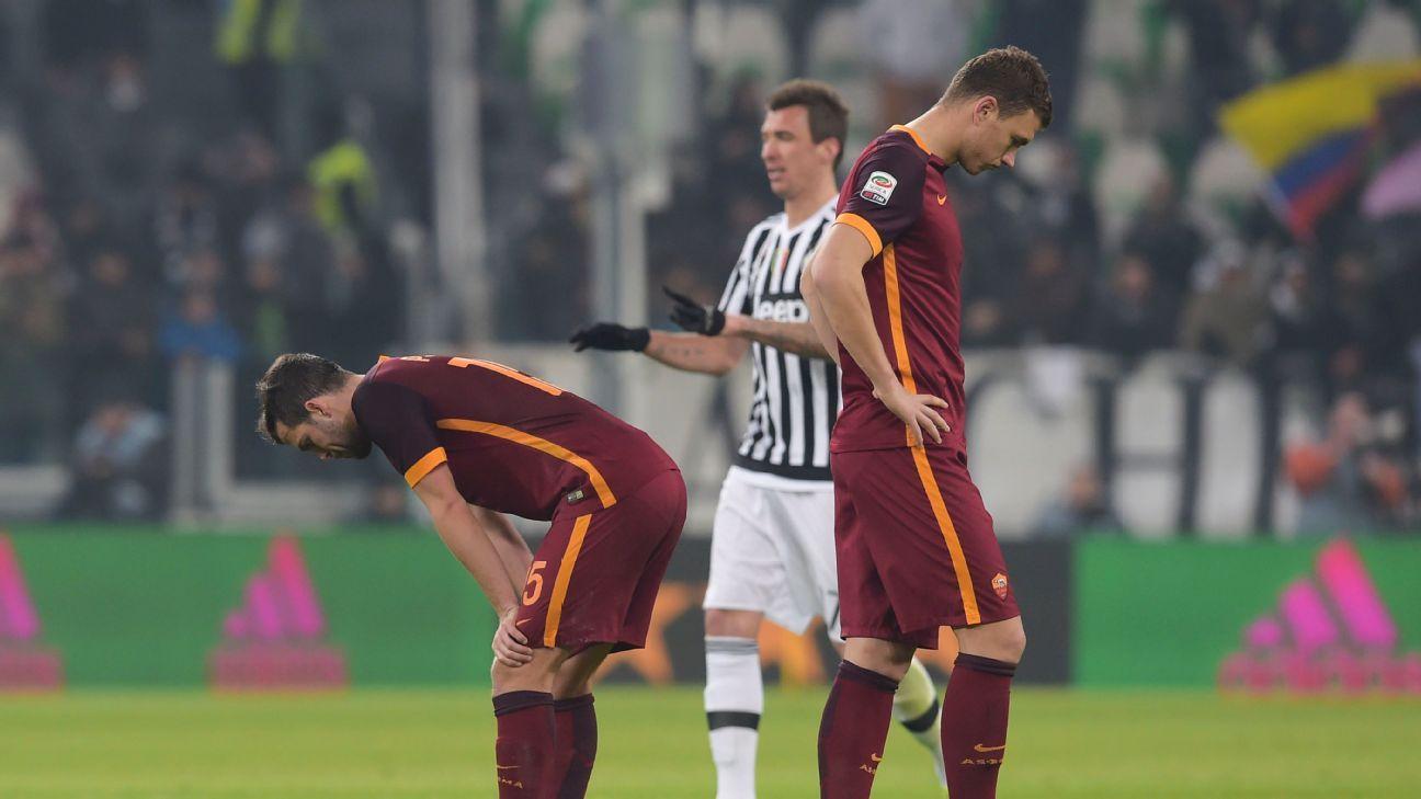 Roma woe vs. Juventus