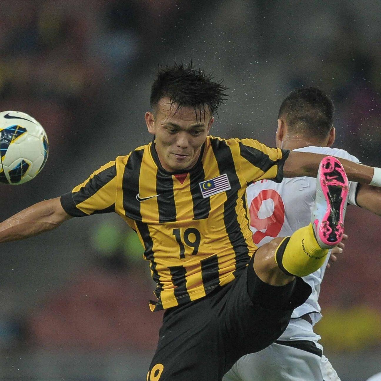 Malaysia midfielder Joseph Kalang Tie