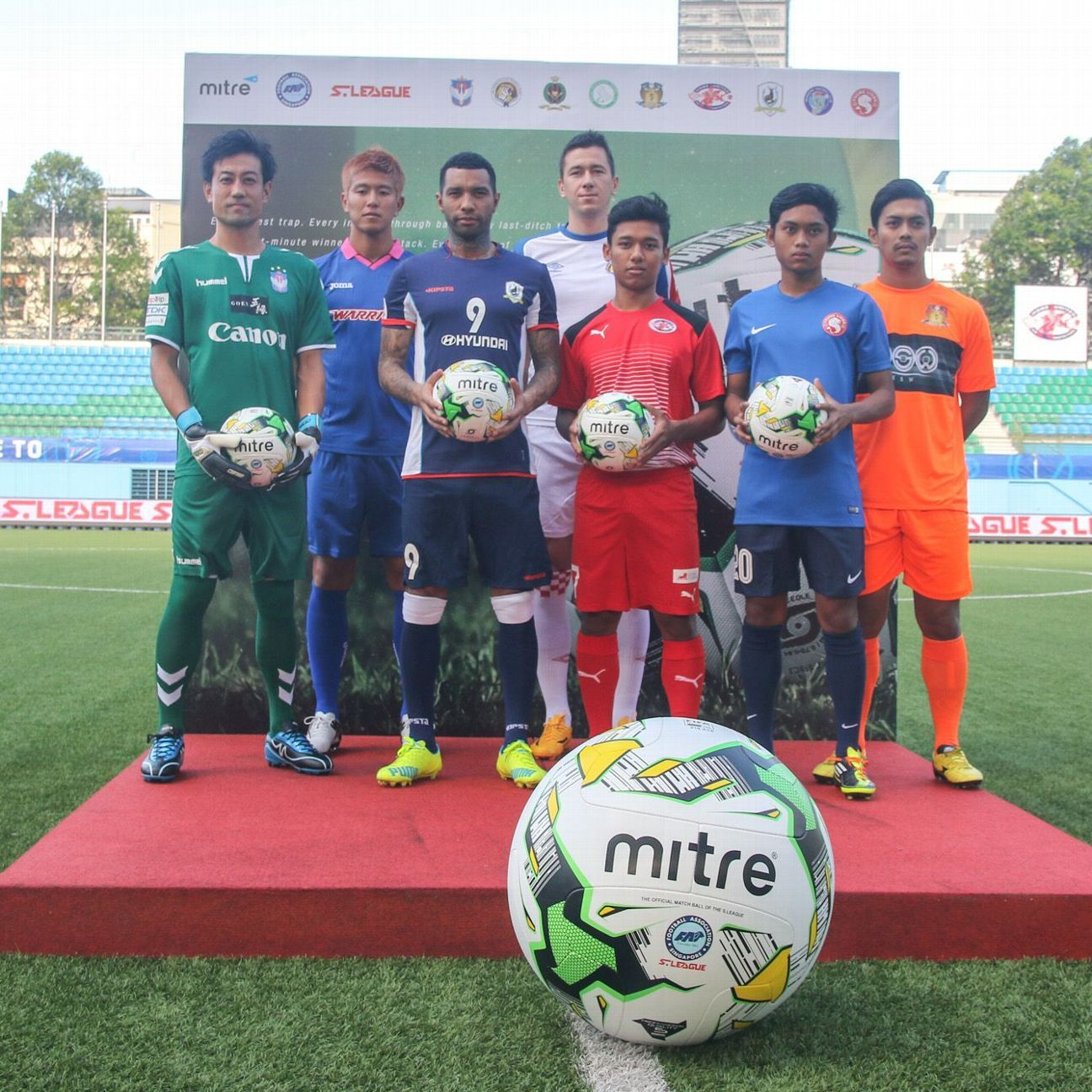S.League ball sponsor Mitre