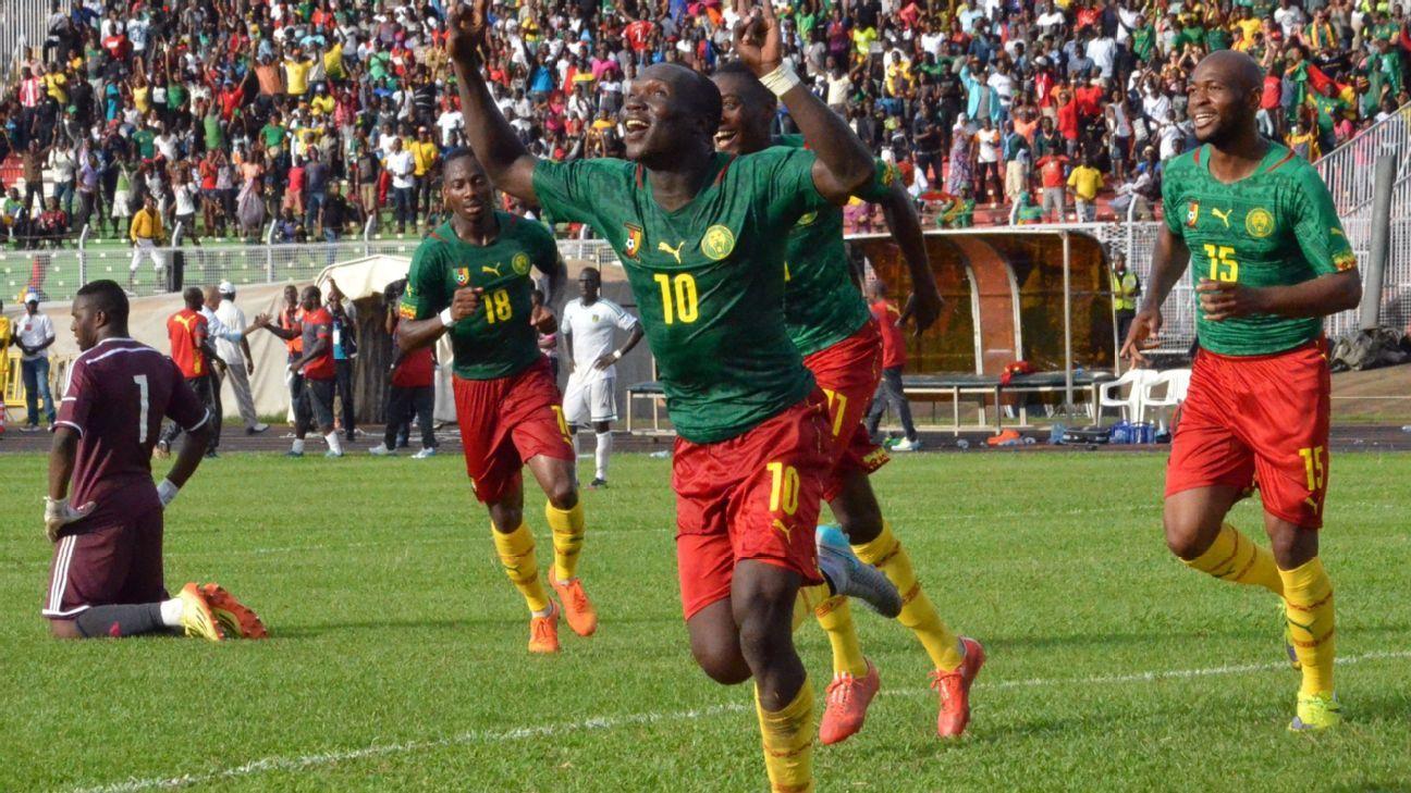 Ставки на матч ЮАР Камерун
