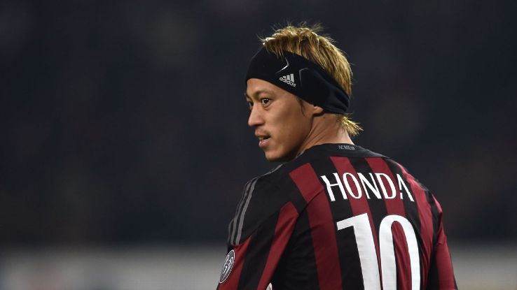 Image result for k honda ac milan