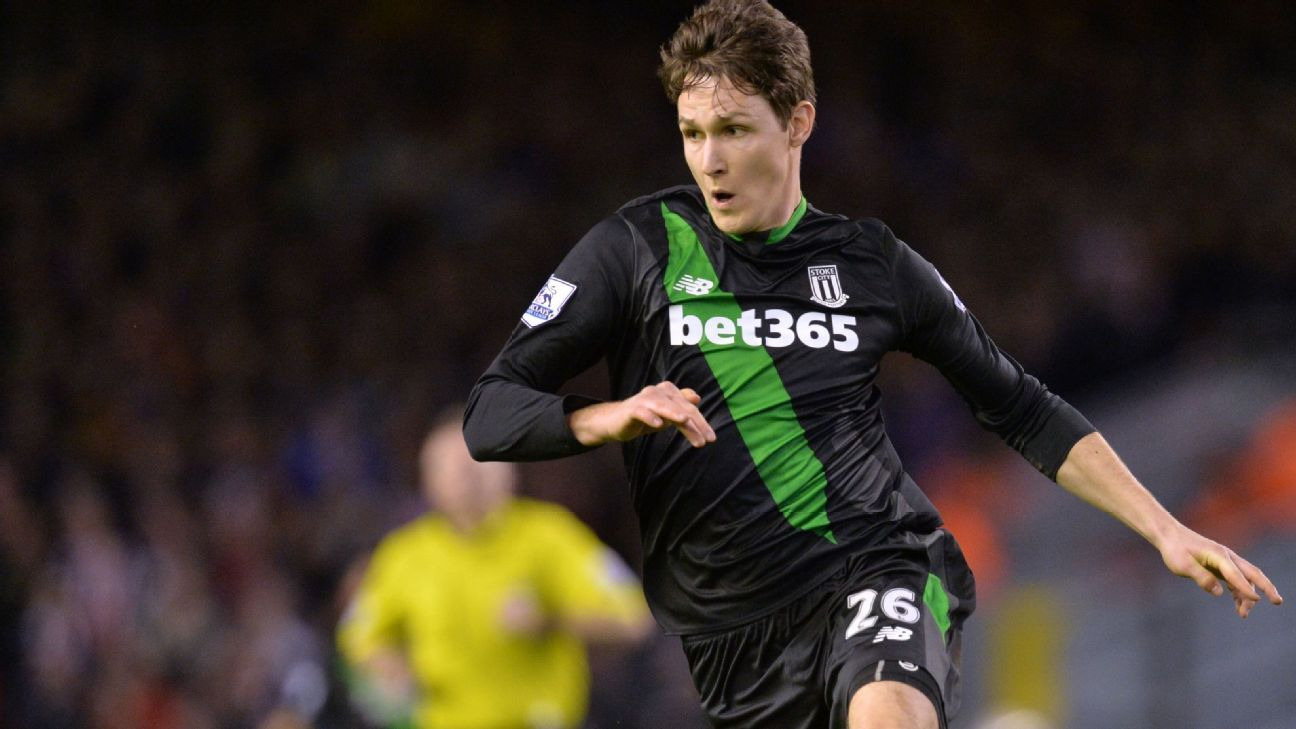 Philipp Wollscheid was a rock in the Stoke defence against Liverpool.