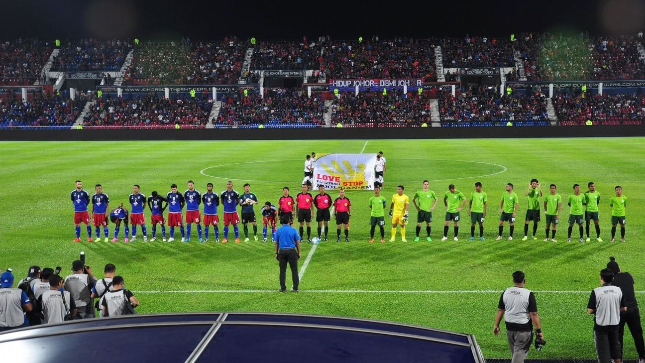 JDT vs. Geylang at Larkin