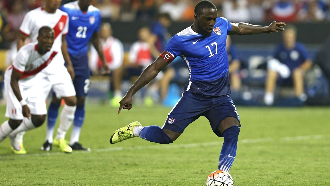 US striker Jozy Altidore
