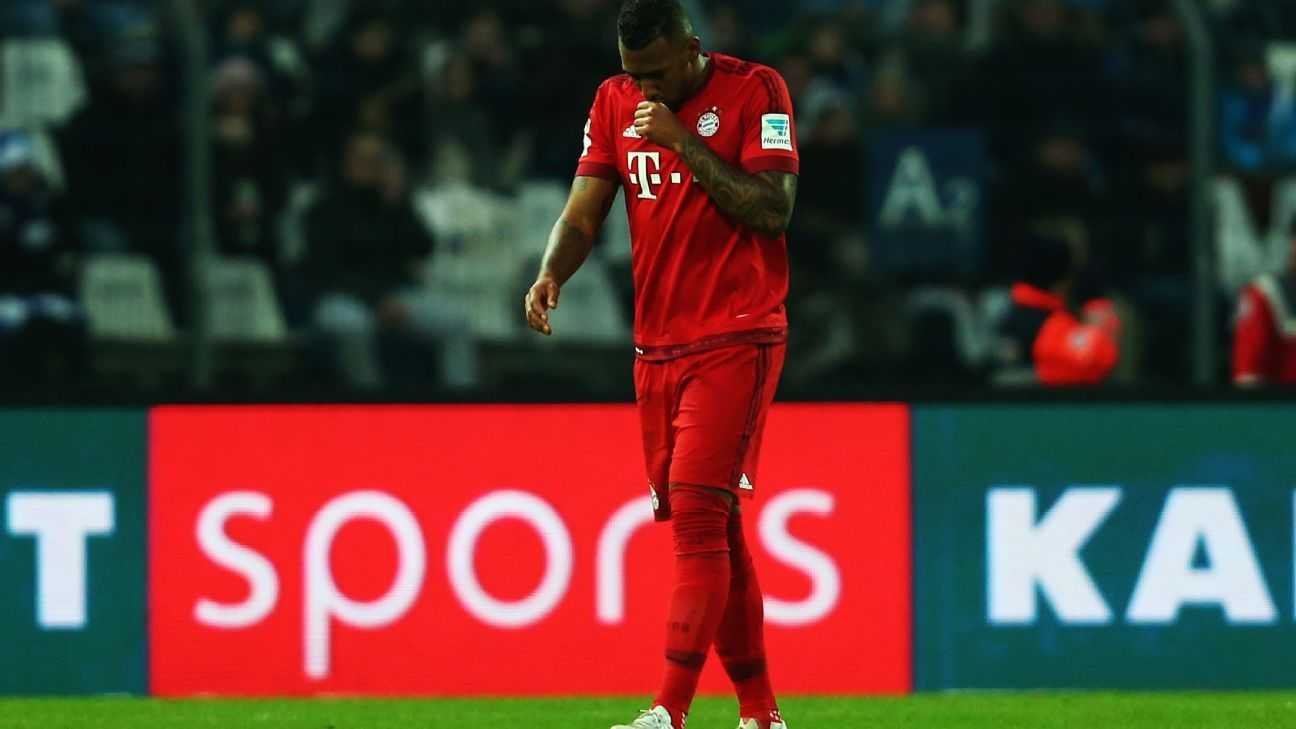 Jerome Boateng is the latest Bayern Munich player to suffer a long-term injury.
