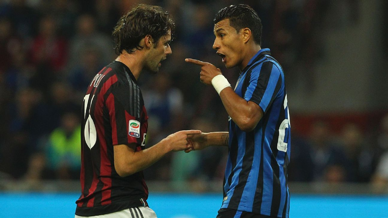 Andrea Poli and Jeison Murillo