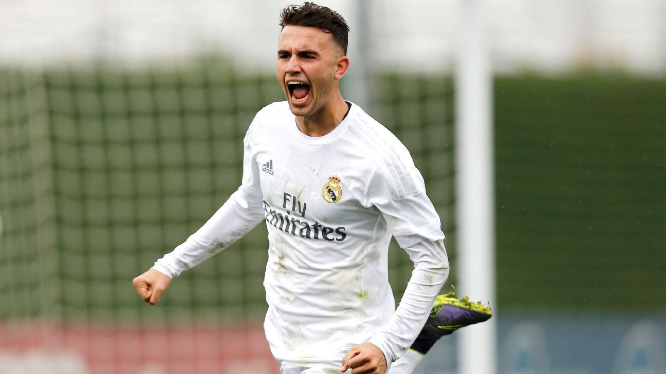 Real Madrid striker Borja Mayoral, 19, has been one of the top performers in this season's UEFA Youth League.