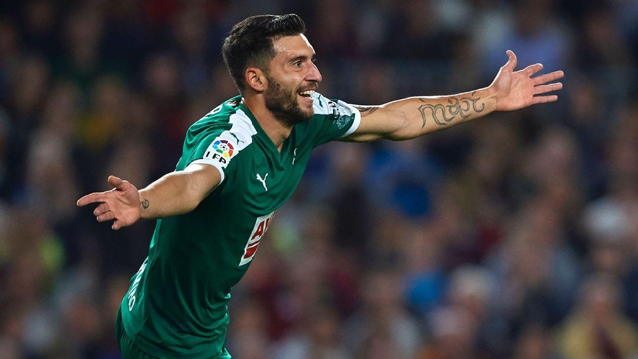 Spanish striker Borja Baston