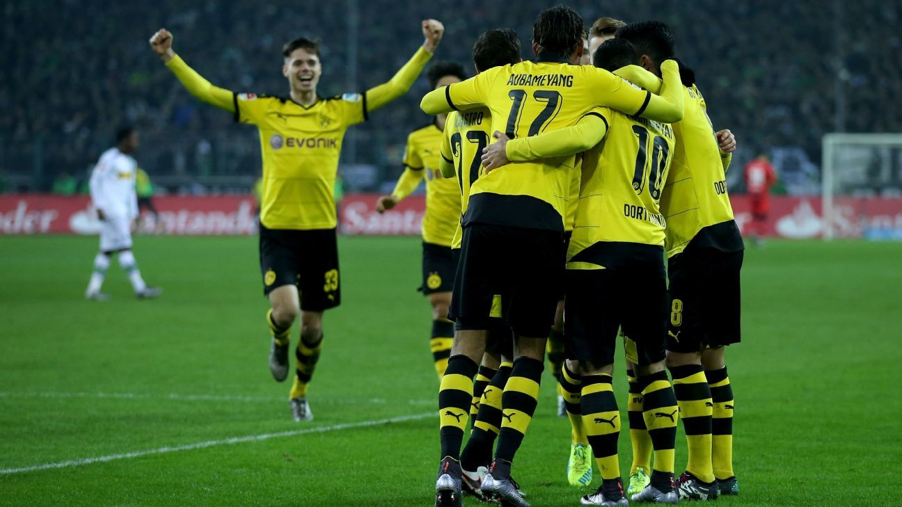 Borussia Dortmund started 2016 off on the right foot, with a 4-1 win last week over Borussia Monchengladbach.