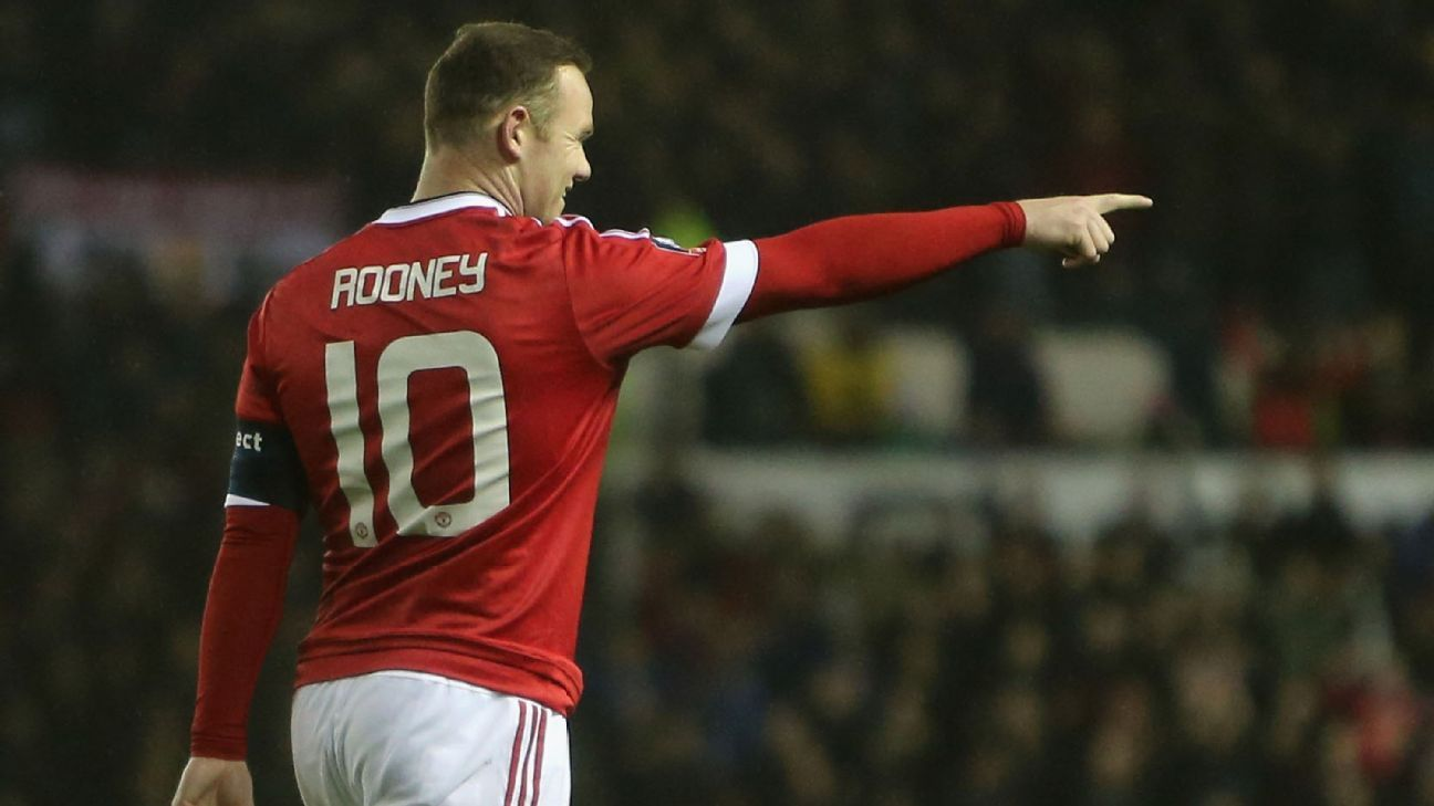 Wayne Rooney's curling right-footed effort got United off to a good start at Derby.