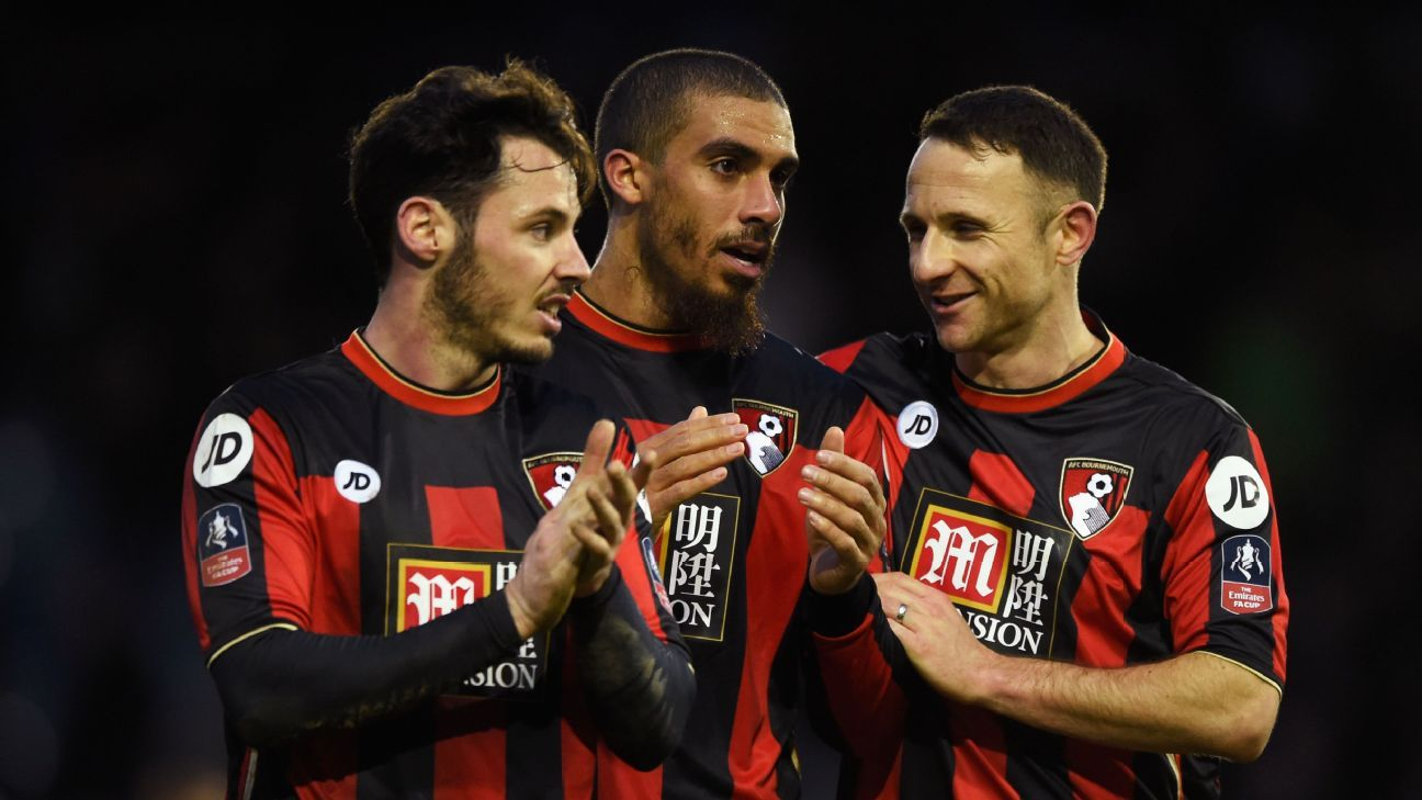After a slow start, a rotated Bournemouth side took care of business at Portsmouth.