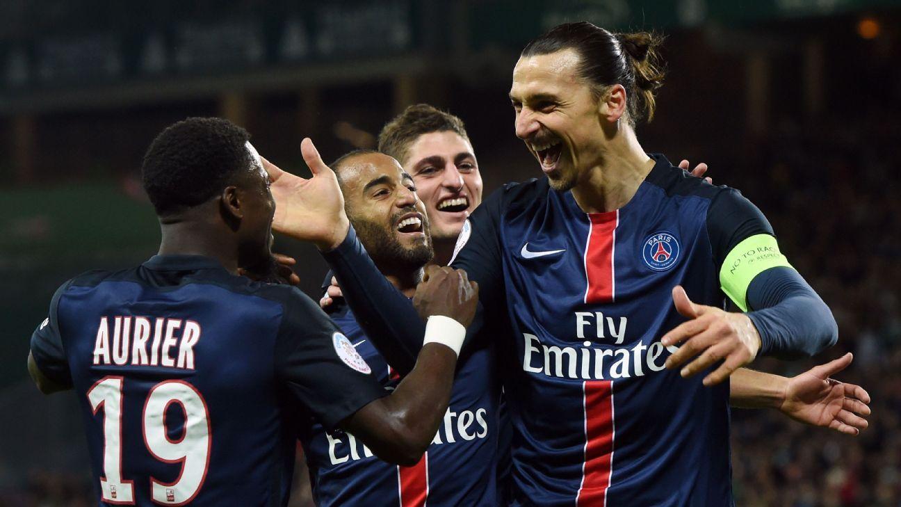Zlatan PSG vs Rennes 160131