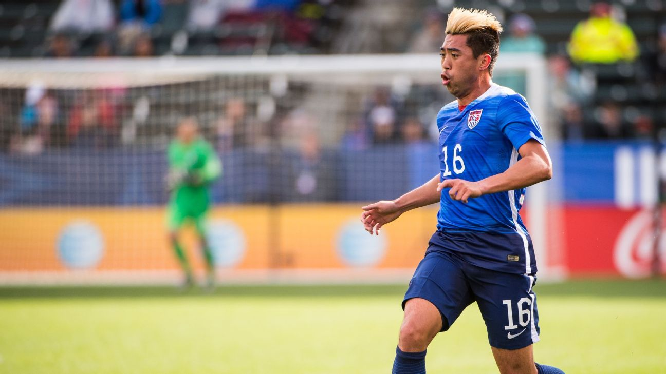 After just one week in camp, Lee Nguyen had cemented his starting spot for Sunday's friendly against Iceland.