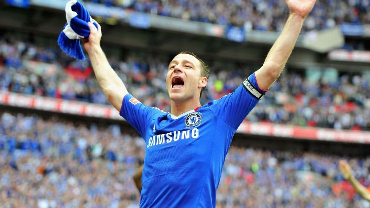 John Terry helped Chelsea to a 1-0 triumph over Portsmouth in the 2010 FA Cup final.