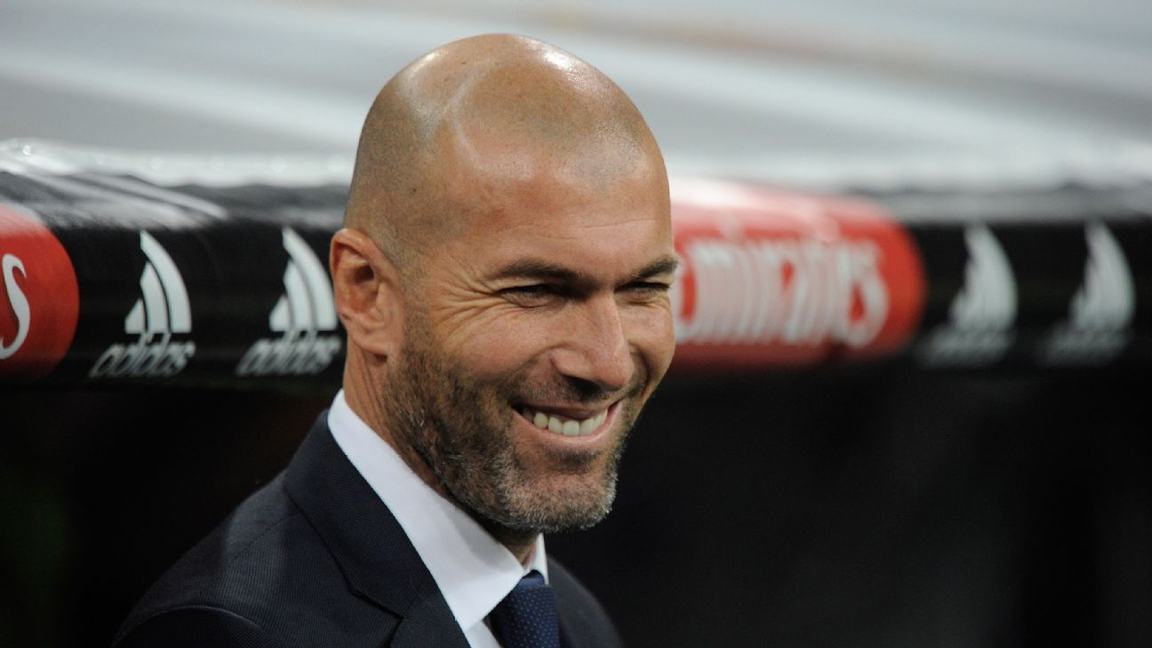 Zinedine Zidane has yet to experience defeat as Real Madrid manager.