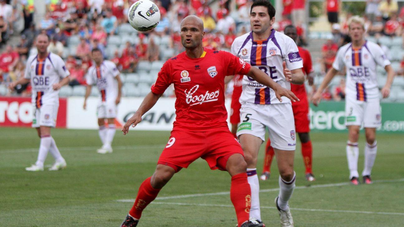 Adelaide striker Sergio van Dijk