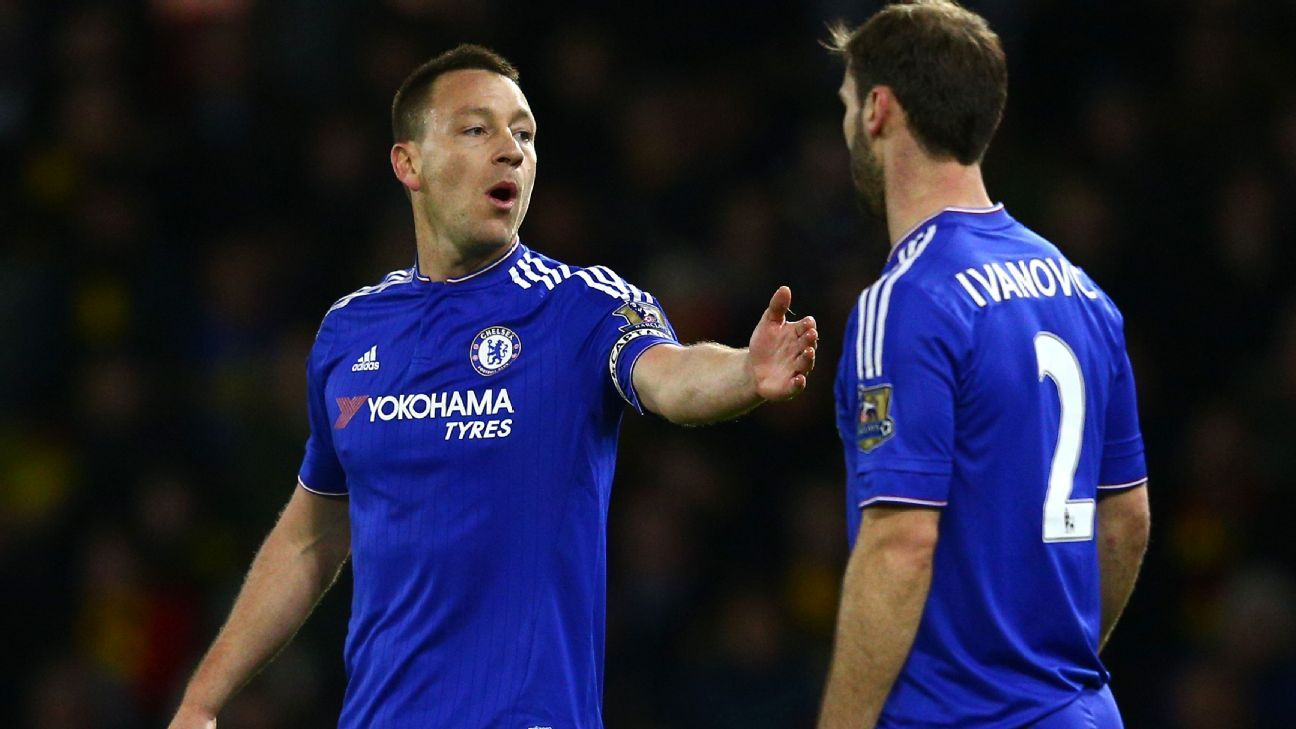 John Terry and Branislav Ivanovic helped make sure that Chelsea earned a hard-fought point at Watford.