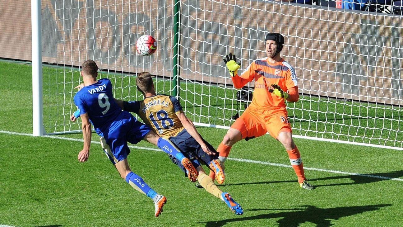 Jamie Vardy vs. Arsenal