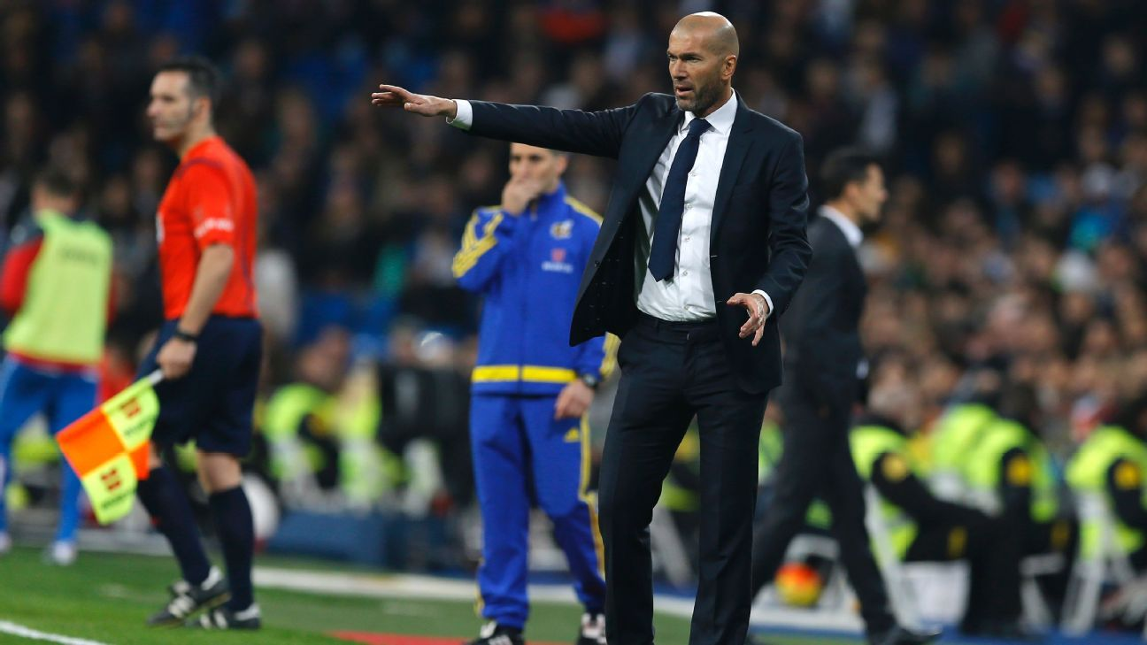 Zidane vs Espanyol 160131