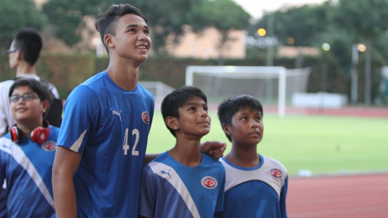 Home United's Ikhsan Fandi