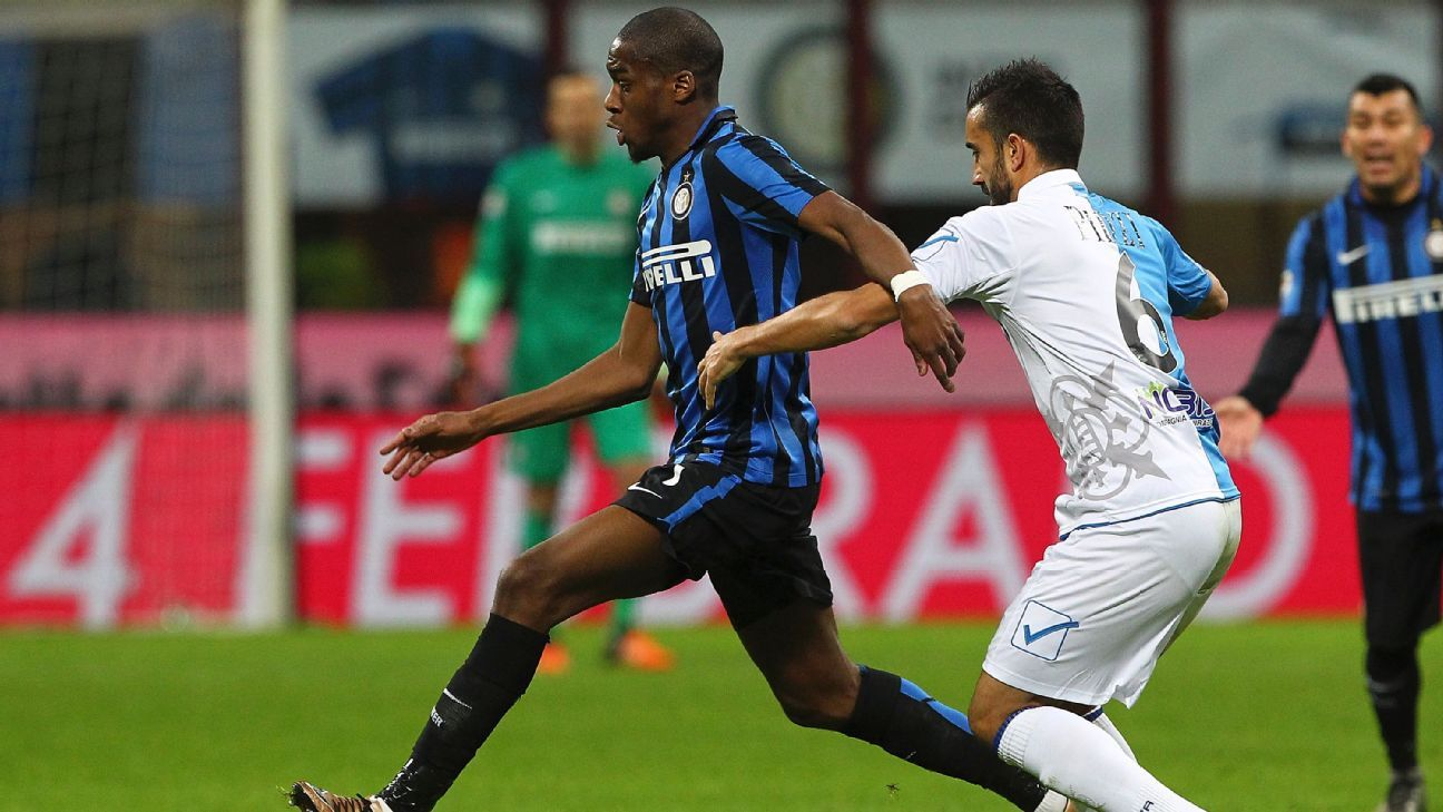 Geoffrey Kondogbia was at his playmaking best in Inter's midweek triumph over Chievo.