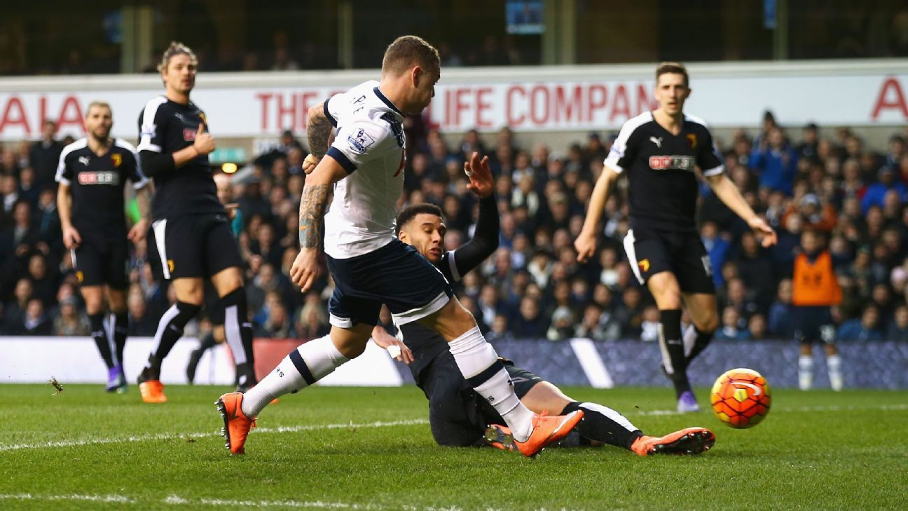 Kieran Trippier's incisive back post run was the breakthrough Tottenham were looking for against Watford.