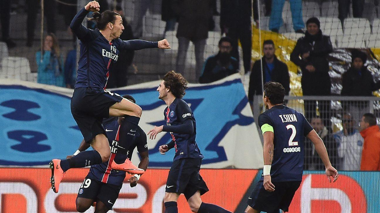 Zlatan celeb vs Marseille 160207