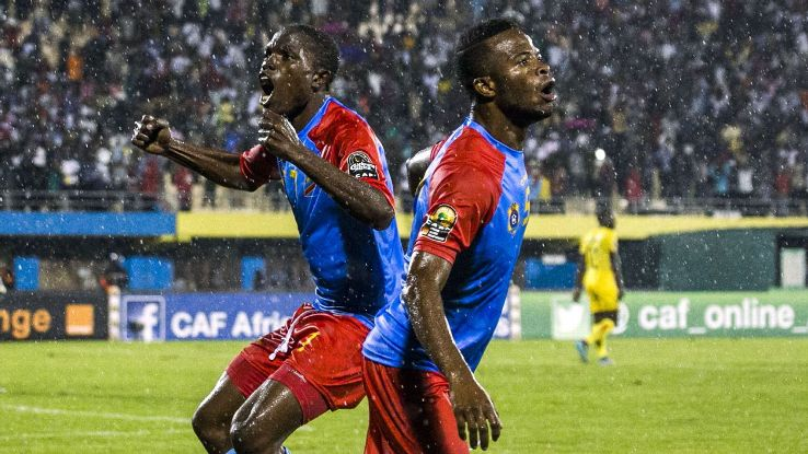 Congo celeb African Nations Champs 160207