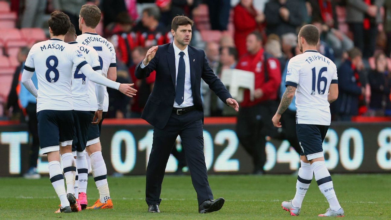 Under Mauricio Pochettino, Tottenham are poised to reach the Champions League for the first time since 2010-11.