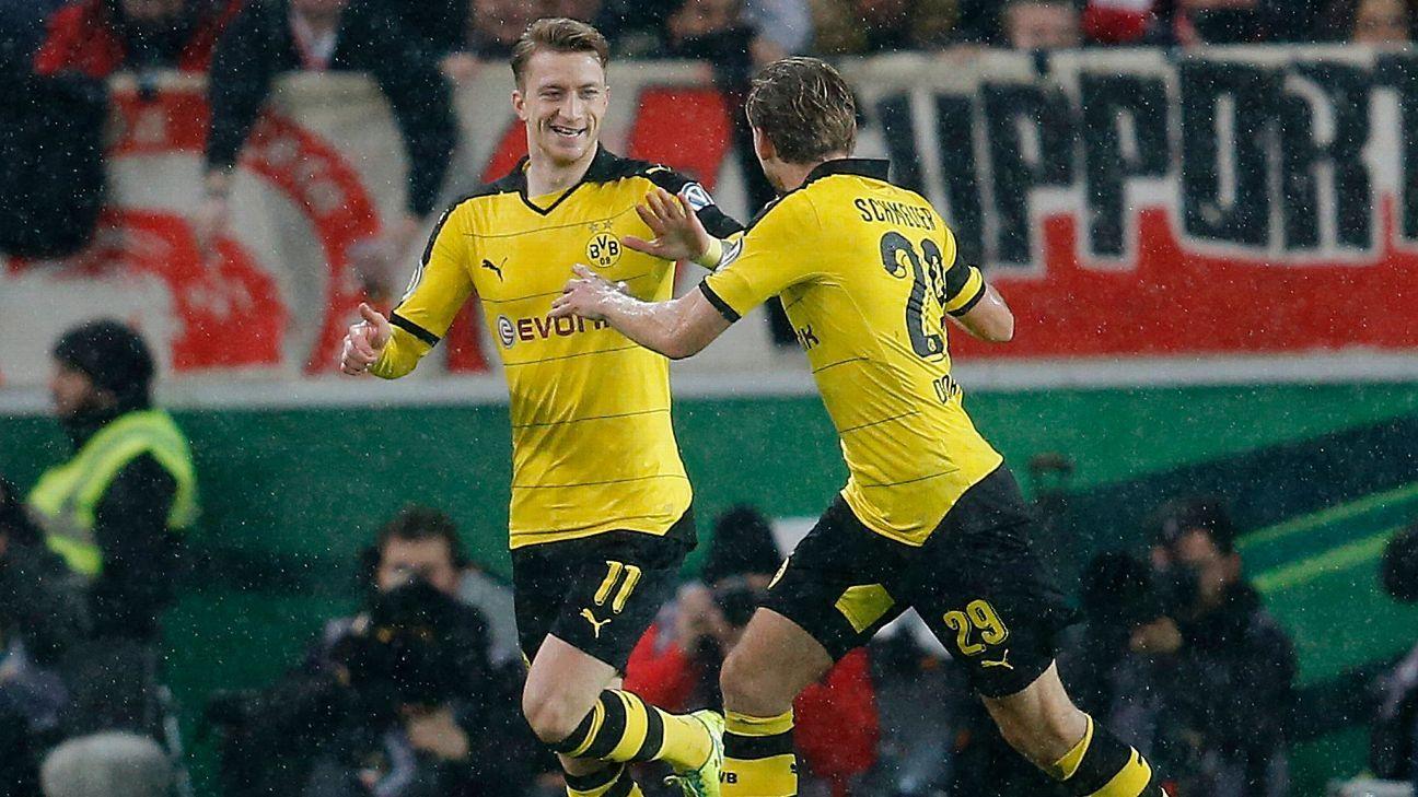 Reus Dortmund Celeb Pokal 160209