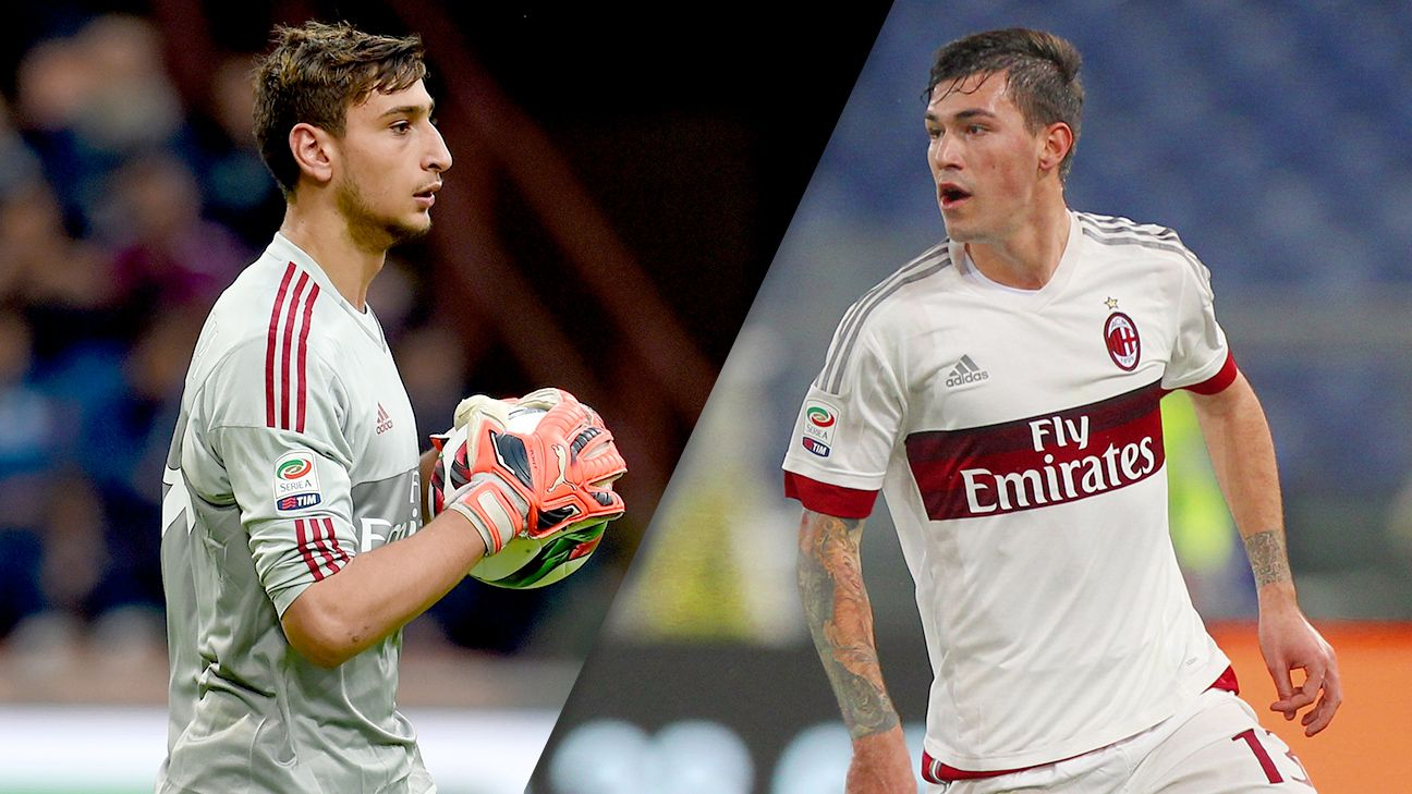 Goalkeeper Gianluigi Donnarumma and defender Alessio Romagnoli have helped spearhead Milan's Serie A renaissance.