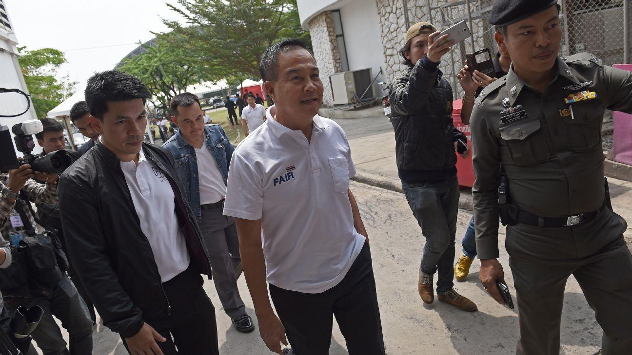 FAT President Somyot Poompanmoung