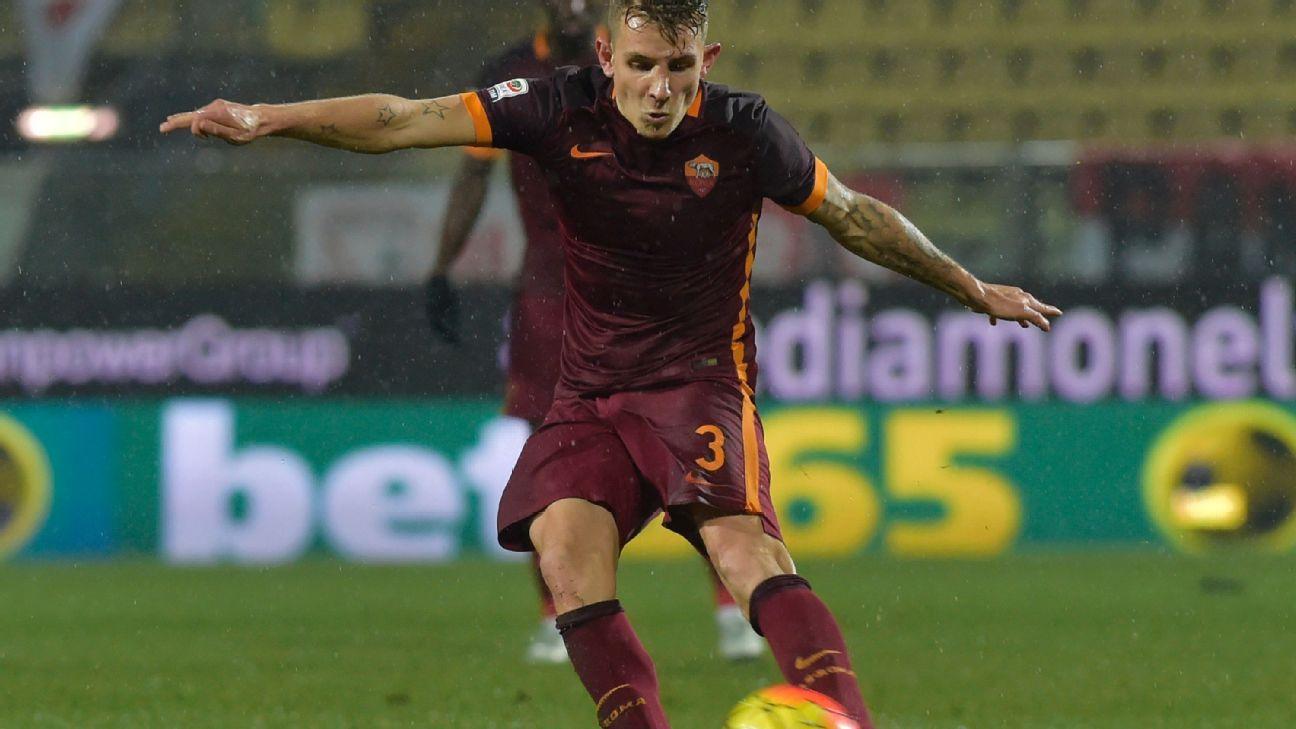 Lucas Digne vs Carpi 160212