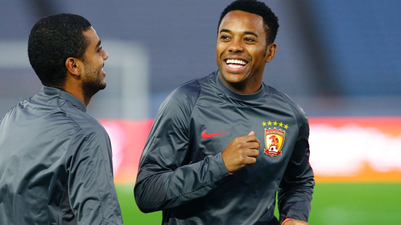 Robinho at Guangzhou Evergrande