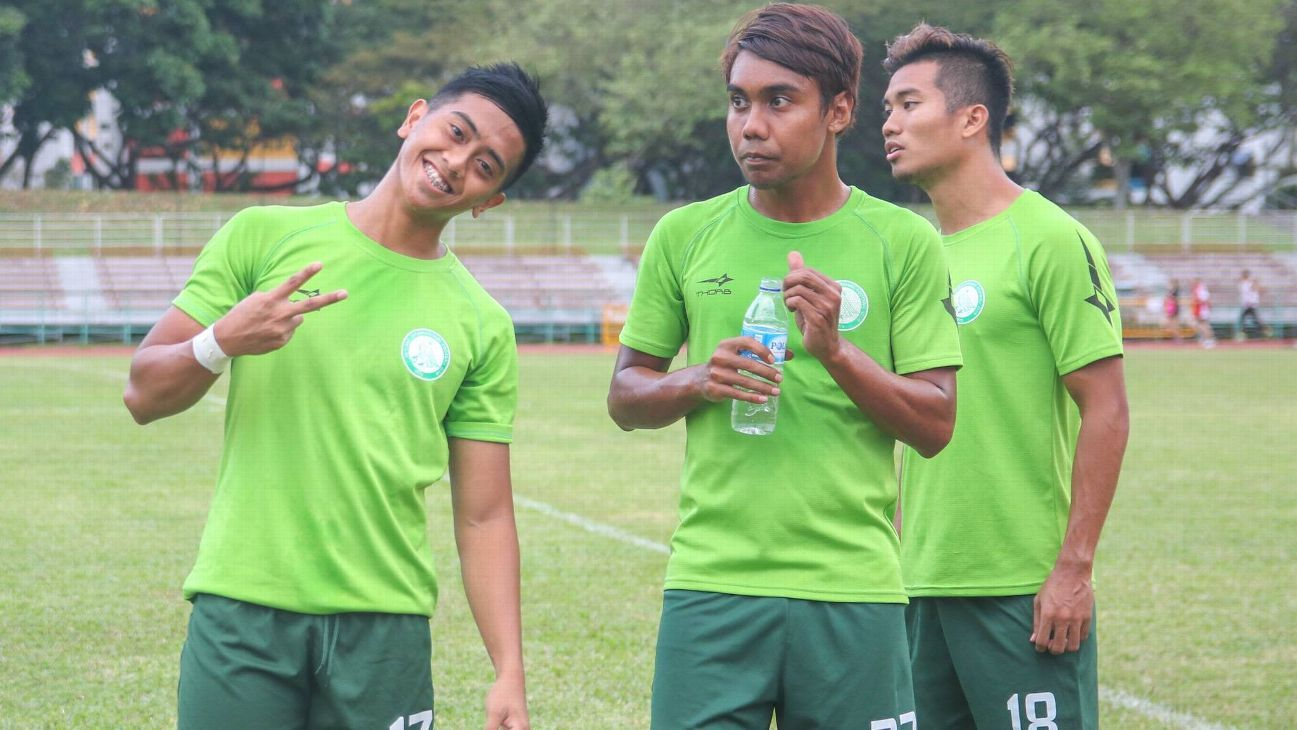 Geylang striker Amy Recha