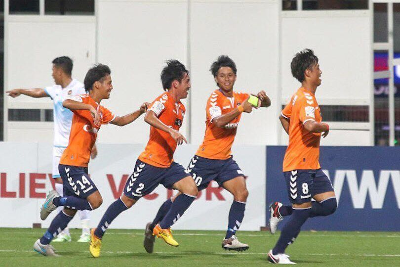 Albirex Niigata winger Hiroyoshi Kamata