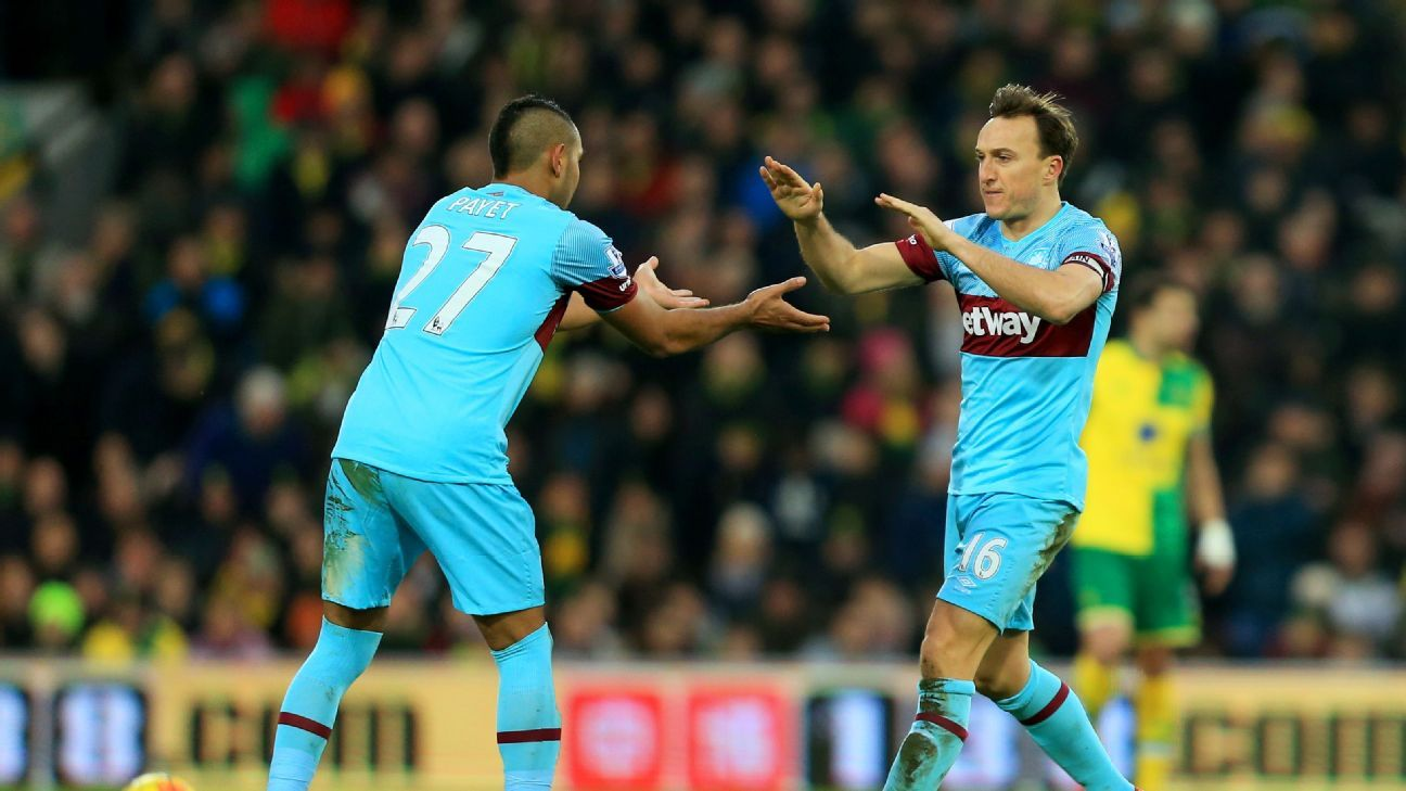 Dimitri Payet & Mark Noble