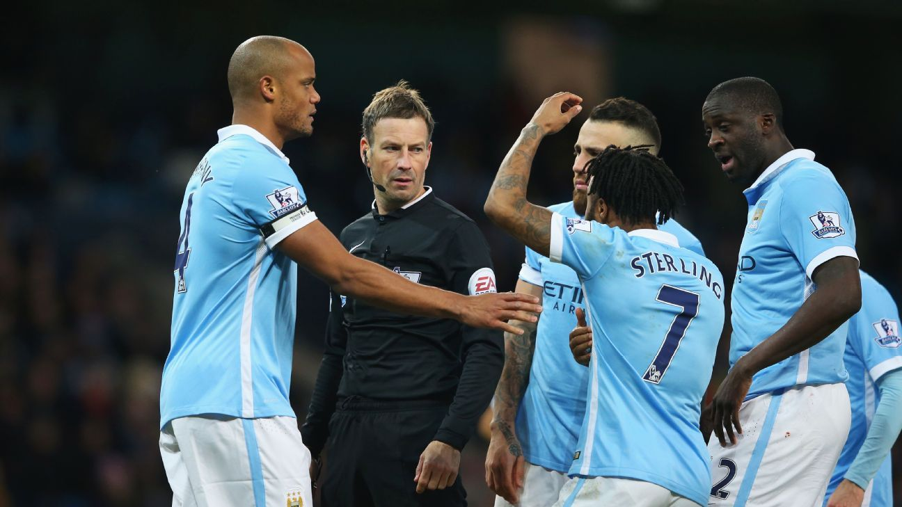 City confront Clattenburg