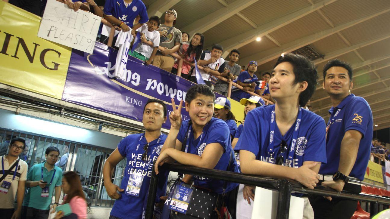 Thai Leicester fans