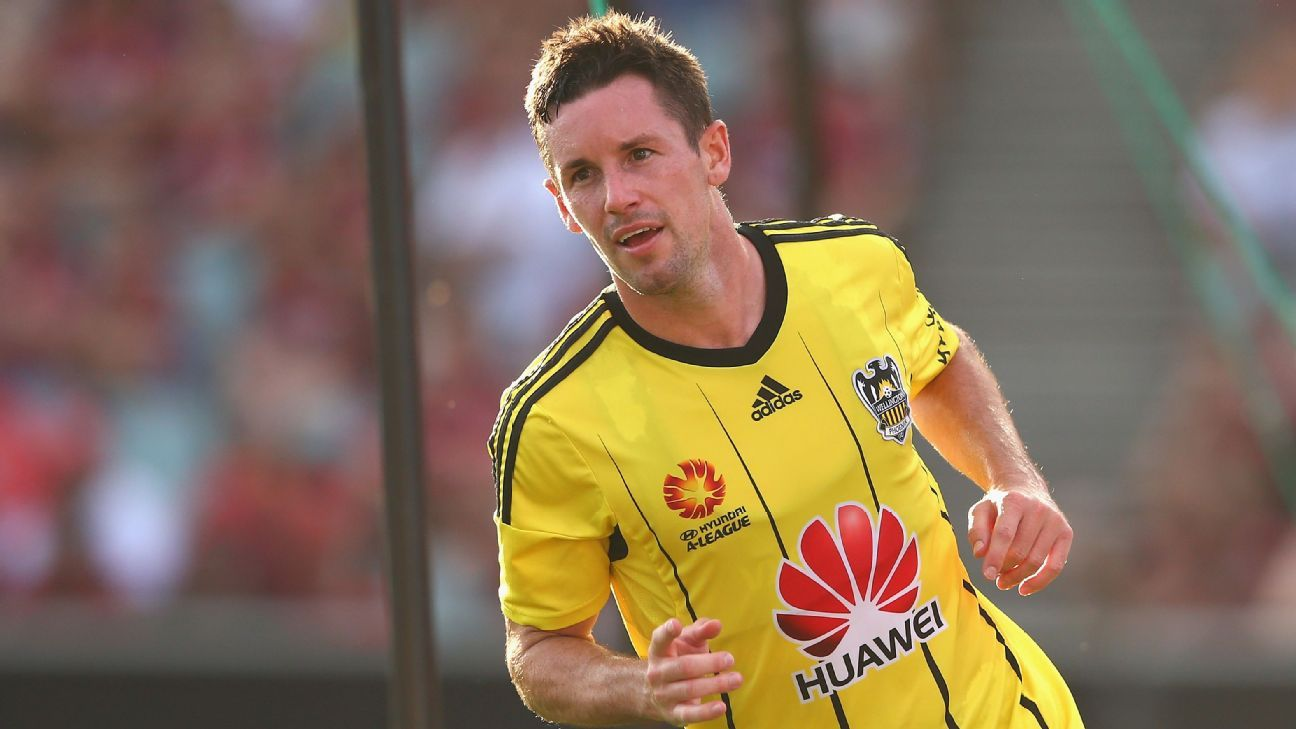 Wellington Phoenix striker Blake Powell