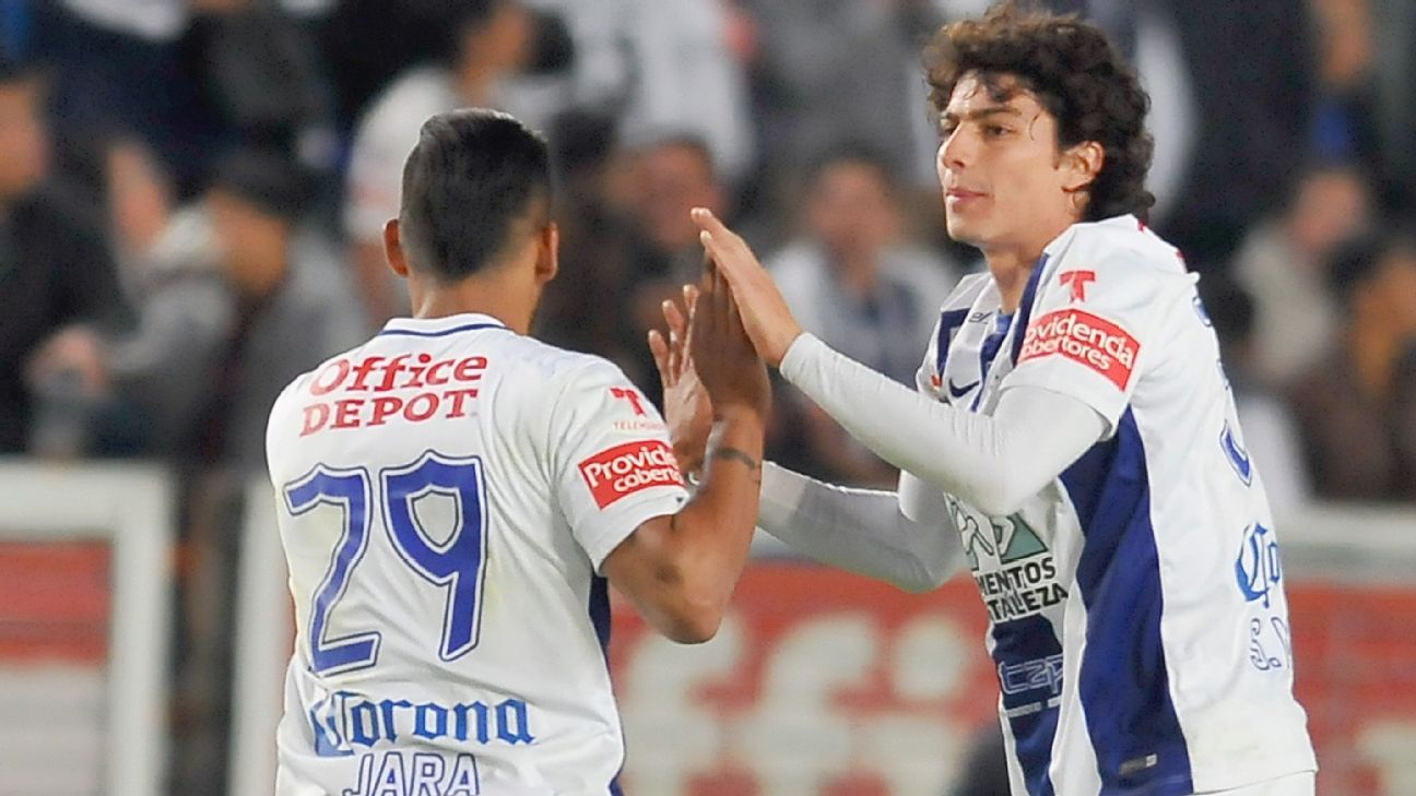 Pachuca poured in four goals in the final 10 minutes to send Puebla home with a 5-2 defeat.