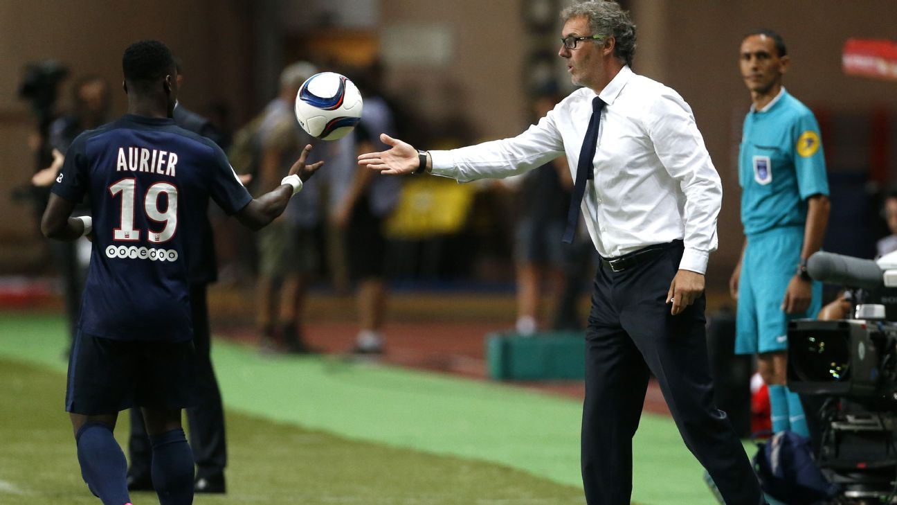 Serge Aurier will not be suiting up for Laurent Blanc's PSG anytime soon.