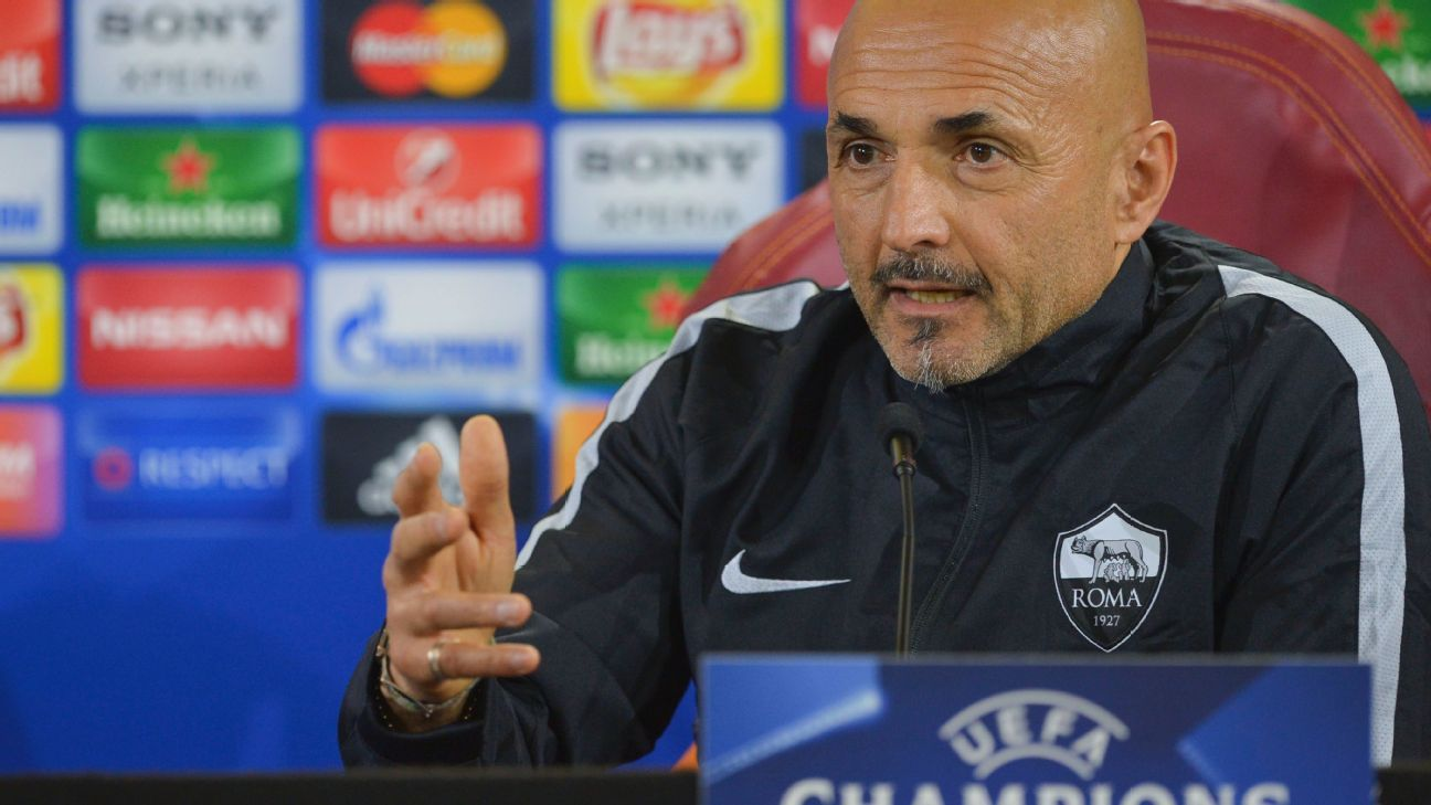 A win over Fiorentina would go a log way to helping Luciano Spalletti's Roma nail down at least a third-place finish this season in Serie A.