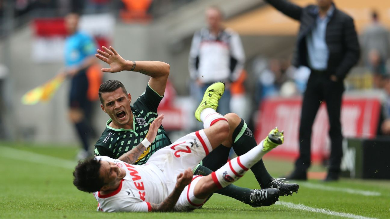 Granit Xhaka and Borussia Monchengladbach came up just short in their early season meeting with Cologne, falling 1-0 back on Sept. 19.